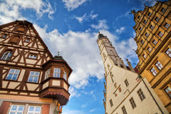 Picturesque Rothenburg ob der Tauber Royalty Free Stock Image