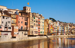 Picturesque view of Girona Royalty Free Stock Images