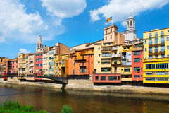 Picturesque view of Girona Royalty Free Stock Image