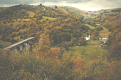 Picturesque view on the hills, Peak District National Park, Derb Stock Photography
