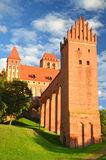Picturesque view of Kwidzyn cathedral in Pomerania region, Poland Stock Photo