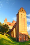 Picturesque view of Kwidzyn cathedral in Pomerania region, Poland Royalty Free Stock Images