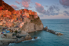 Picturesque view of Manarola Royalty Free Stock Photography