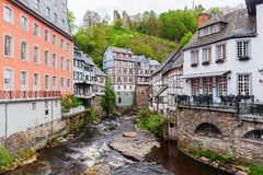 Picturesque view of Monschau, Germany Stock Photo