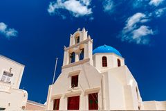 Picturesque view of Oia, Santorini, Greece Stock Photography