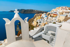 Picturesque view of Oia, Santorini, Greece Royalty Free Stock Image