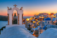 Picturesque view of Oia, Santorini, Greece Royalty Free Stock Photos