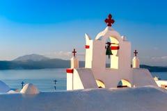 Picturesque view of Oia, Santorini, Greece Royalty Free Stock Photo