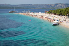 Picturesque View On Golden Cape On Brac Island, Cr Stock Photography