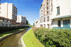 Picturesque view of Perpignan. France. Stock Photos