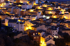 Picturesque view with residence houses in Cuenca, Castilla-La Ma Royalty Free Stock Photo