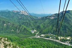 Picturesque View of Seoraksan National Park Royalty Free Stock Images