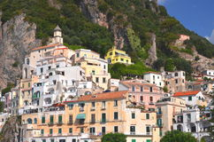 Picturesque view of summer resort  Amalfi, Italy Royalty Free Stock Image