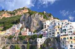 Picturesque view of summer resort  Amalfi, Italy Stock Image