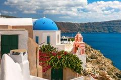 Picturesque view of Oia, Santorini, Greece Stock Image