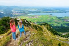 Free Picturesque Views From The Tegelberg Mountain, A Part Of Ammergau Alps, Located Nead Fussen, Bavaria, Germany. Royalty Free Stock Photos - 103626928