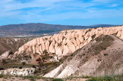 Picturesque views of the Pidgeon Valley, Cappadocia, Turkey Stock Photography