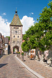 Picturesque village of Bergheim, Alsace France Stock Images