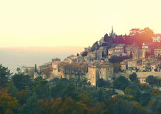 Picturesque village of Bonnieux Royalty Free Stock Image