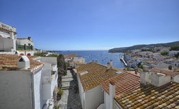 The picturesque village of Cadaques Royalty Free Stock Images