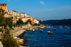Picturesque village of Croatia Stock Photos