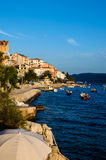 Picturesque village of Croatia Stock Images