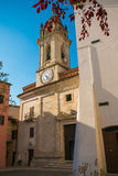 Picturesque village of Gualdo Cattaneo in Umbria Royalty Free Stock Photography