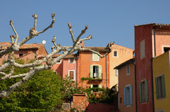 Picturesque village inFrance Royalty Free Stock Image
