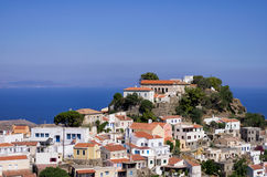 The picturesque village of Kea island, Greece Stock Photo