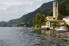 Picturesque village, Lake Como, Italy Stock Image