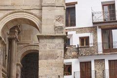Picturesque village in Spain. Alcala de la Selva. Teruel heritag Stock Photography