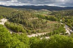 Picturesque village in Spain. Zorita del maestrazgo, Castellon. Stock Photography