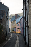 Picturesque village streets in Cornwall, England Stock Photography
