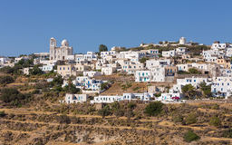 The picturesque village of Tripiti, Milos island,  Royalty Free Stock Photography