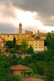 Picturesque village in Tuscany Stock Photos