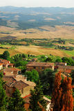 Picturesque village in Tuscany Royalty Free Stock Photos