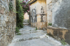 Picturesque Walkway. In Athens Greece Stock Images