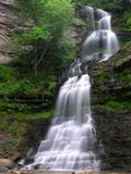 Picturesque waterfall Stock Images