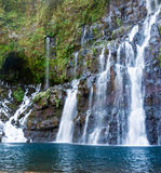 Picturesque waterfall Stock Photos