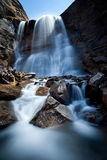 Picturesque waterfall Royalty Free Stock Photo