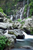 Picturesque waterfall Royalty Free Stock Images