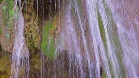 Picturesque Waterfall Dzhur Dzhur In Motion stock video footage