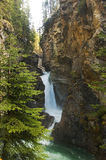 Picturesque waterfall rapid. Most beautiful landscapes in Banff National Park, Alberta, Canada Stock Photos