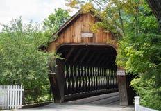 Picturesque Wooden Bridge Stock Photography