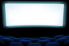 Picure of cinema seats Royalty Free Stock Image
