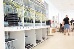 Picure networking narzędzia testa przemysłowa ławka zdjęcie royalty free