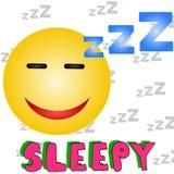 śpiący Fotografia Royalty Free
