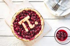 Pidag Cherry Pie fotografering för bildbyråer