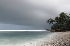 Pidakan plaża obrazy stock