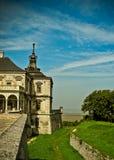 Pidgirci castle Royalty Free Stock Photo
